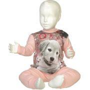 Fun2wear meisjes pyjama 'Puppy' roze